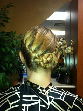 Braided UpDo - Especially for Prom