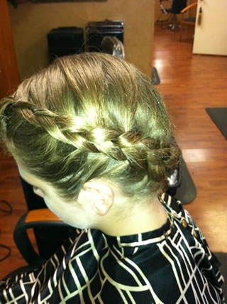 Braided UpDo - Side View