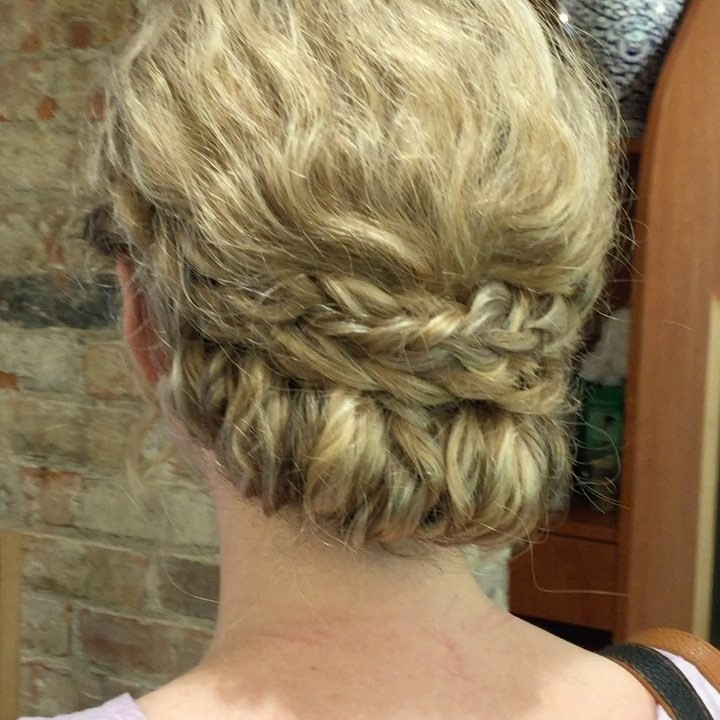 Bridal party hair done by Krystal
