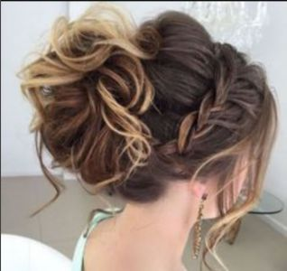 Bridal Updo with Braids